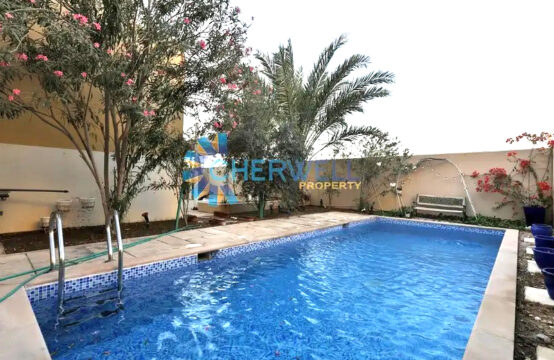 New And Well Maintained | Type S Deluxe Villa With Pool & Garden