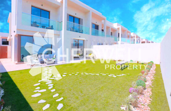 Single Row | Corner Villa | Type EB | Luxrious Living In Yas